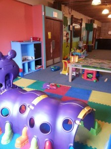 The first (!) set of play areas at Little Jack's.