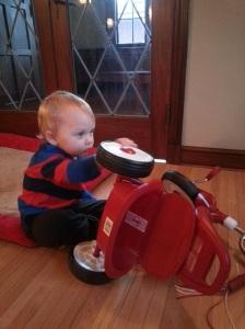 Future mechanic? No doubt.