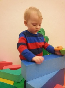 Toddler time at our local YMCA.