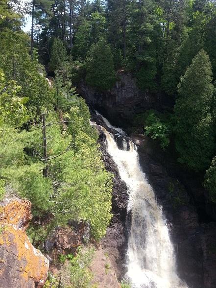 Pattison State Park Falls